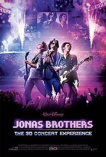 Jonas Brothers 3D - O Show - Poster / Capa / Cartaz - Oficial 1