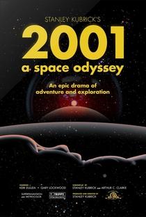 2001: Uma Odisseia no Espaço - Poster / Capa / Cartaz - Oficial 24