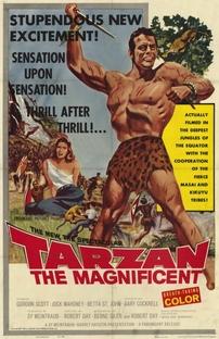 Tarzan - O Magnífico - Poster / Capa / Cartaz - Oficial 1