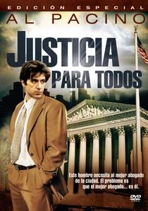 Justiça Para Todos - Poster / Capa / Cartaz - Oficial 7