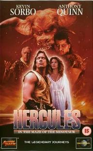 Hércules e o Labirinto do Minotauro - Poster / Capa / Cartaz - Oficial 1