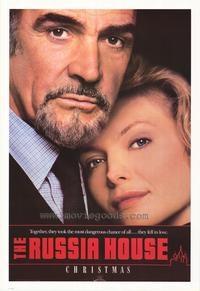 A Casa da Rússia - Poster / Capa / Cartaz - Oficial 1