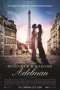 Monsieur e Madame Adelman - Poster / Capa / Cartaz - Oficial 3