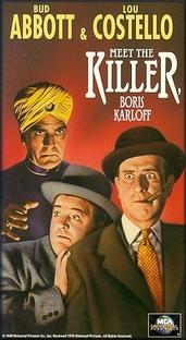 Abbott e Costello Frente a Frente com Assassinos  - Poster / Capa / Cartaz - Oficial 2