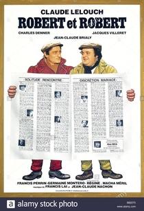 Robert e Robert - Poster / Capa / Cartaz - Oficial 1