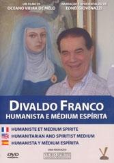 Divaldo Franco - Humanista e Médium Espírita - Poster / Capa / Cartaz - Oficial 1