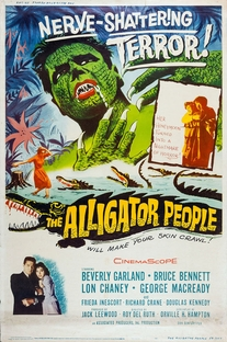 The Alligator People - Poster / Capa / Cartaz - Oficial 1
