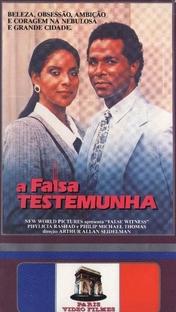 A Falsa Testemunha - Poster / Capa / Cartaz - Oficial 2