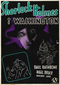 Sherlock Holmes Em Washington - Poster / Capa / Cartaz - Oficial 4