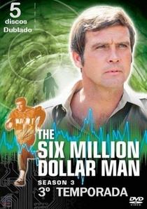 O Homem de Seis Milhões de Dólares (3ª Temporada) - Poster / Capa / Cartaz - Oficial 1
