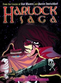 Harlock Saga - Poster / Capa / Cartaz - Oficial 1