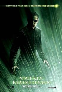 Matrix Revolutions - Poster / Capa / Cartaz - Oficial 2