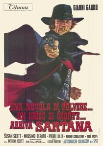 Sartana Está Chegando - Poster / Capa / Cartaz - Oficial 2