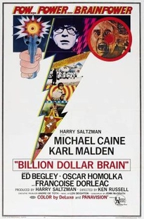 O Cérebro de Um Bilhão de Dólares - Poster / Capa / Cartaz - Oficial 1