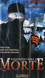 Esquiando para a Morte - Poster / Capa / Cartaz - Oficial 3