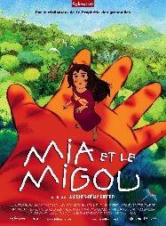 Mia e o Migoo - Poster / Capa / Cartaz - Oficial 1