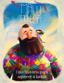 Malu Moletom - Uma História para Aquecer a Todos - Poster / Capa / Cartaz - Oficial 1