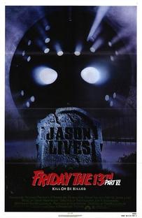 Sexta-Feira 13: Parte 6 - Jason Vive - Poster / Capa / Cartaz - Oficial 1