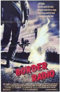 Border Radio - Poster / Capa / Cartaz - Oficial 2