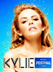 Kylie Minogue iTunes Festival - Poster / Capa / Cartaz - Oficial 1