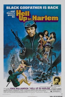 Inferno no Harlem - Poster / Capa / Cartaz - Oficial 1