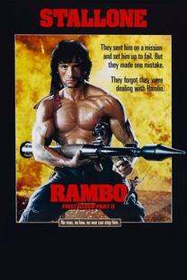Rambo II - A Missão - Poster / Capa / Cartaz - Oficial 9