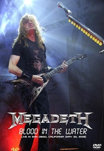 Megadeth - Blood In The Water: Live in San Diego - Poster / Capa / Cartaz - Oficial 1