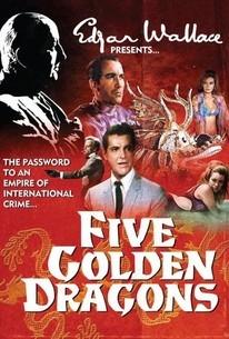 Cinco Dragões Dourados - Poster / Capa / Cartaz - Oficial 2