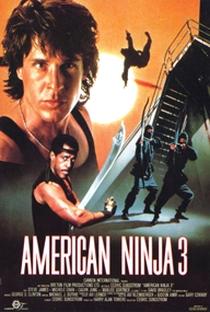 American Ninja 3: O Dragão Americano - Poster / Capa / Cartaz - Oficial 1
