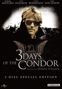 Três Dias do Condor - Poster / Capa / Cartaz - Oficial 7