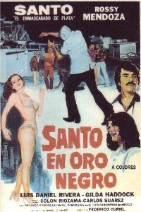 La Noche de San Juan: Santo en Oro Negro - Poster / Capa / Cartaz - Oficial 1