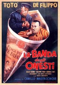A Quadrilha dos Honestos - Poster / Capa / Cartaz - Oficial 1