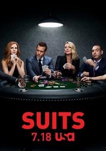 Suits (8ª Temporada) - Poster / Capa / Cartaz - Oficial 1