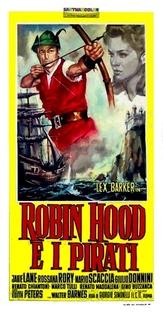 Robin Hood e Os Piratas - Poster / Capa / Cartaz - Oficial 2