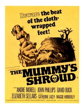 The Mummy/'s Shroud Andre Morell Horror movie poster