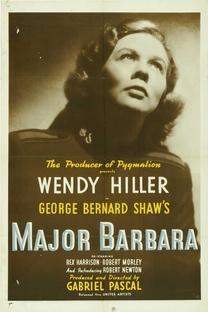 Major Barbara - Poster / Capa / Cartaz - Oficial 3
