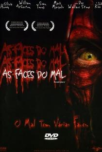 As Faces do Mal - Poster / Capa / Cartaz - Oficial 2