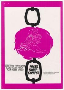 Trans-Europ-Express - Poster / Capa / Cartaz - Oficial 2