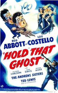 Abbott e Costello - Agarra-me Esse Fantasma - Poster / Capa / Cartaz - Oficial 2