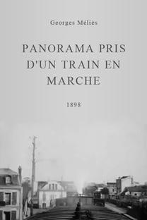 Panorama Pris D'un Train En Marche - Poster / Capa / Cartaz - Oficial 1