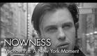 """Michael Pitt in """"A New York Moment"""" by Glen Luchford"""