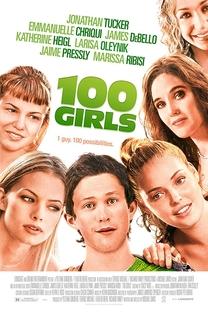 100 Garotas - Poster / Capa / Cartaz - Oficial 4