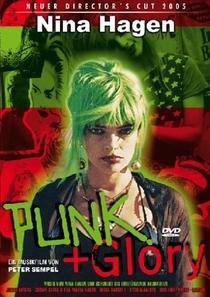 Nina Hagen = Punk + Glory - Poster / Capa / Cartaz - Oficial 1