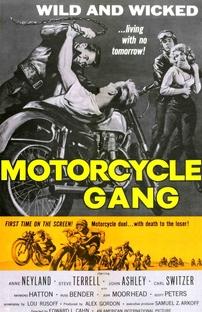 Motorcycle Gang - Poster / Capa / Cartaz - Oficial 1