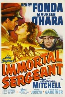 O Sargento Imortal - Poster / Capa / Cartaz - Oficial 1