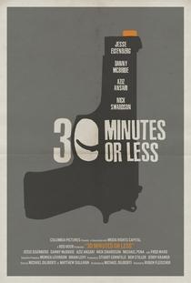 30 Minutos ou Menos - Poster / Capa / Cartaz - Oficial 3