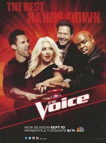 The Voice (3ª Temporada) - Poster / Capa / Cartaz - Oficial 2