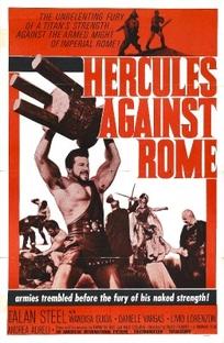 Hércules Contra Roma - Poster / Capa / Cartaz - Oficial 2
