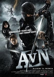 Alien vs. Ninja - Poster / Capa / Cartaz - Oficial 1