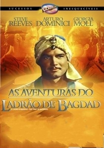 As Aventuras do Ladrão de Bagdad - Poster / Capa / Cartaz - Oficial 2